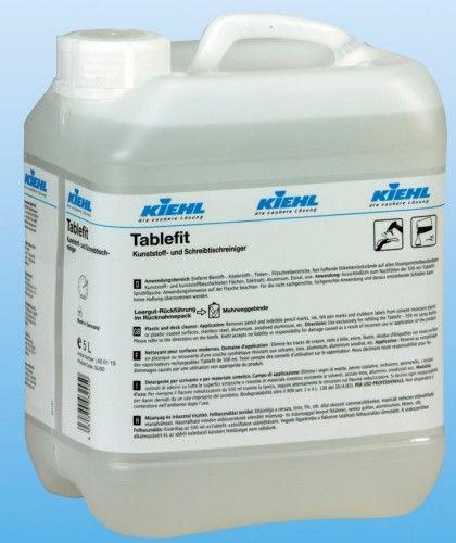 Tablefit detergent cu mare capacitate de curatare, indeparteaza cu usurinta murdariile persistente de pe materialele rezistente la solventi.