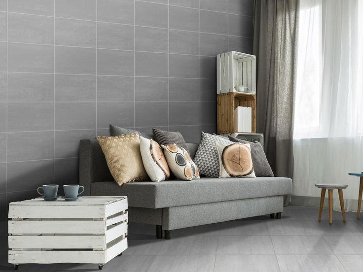Dubrovnik Grey 400 X 250 mm Matt Finish Ceramic Wall Tile | CTM