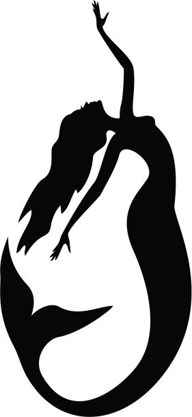 Cool mermaid tattoo