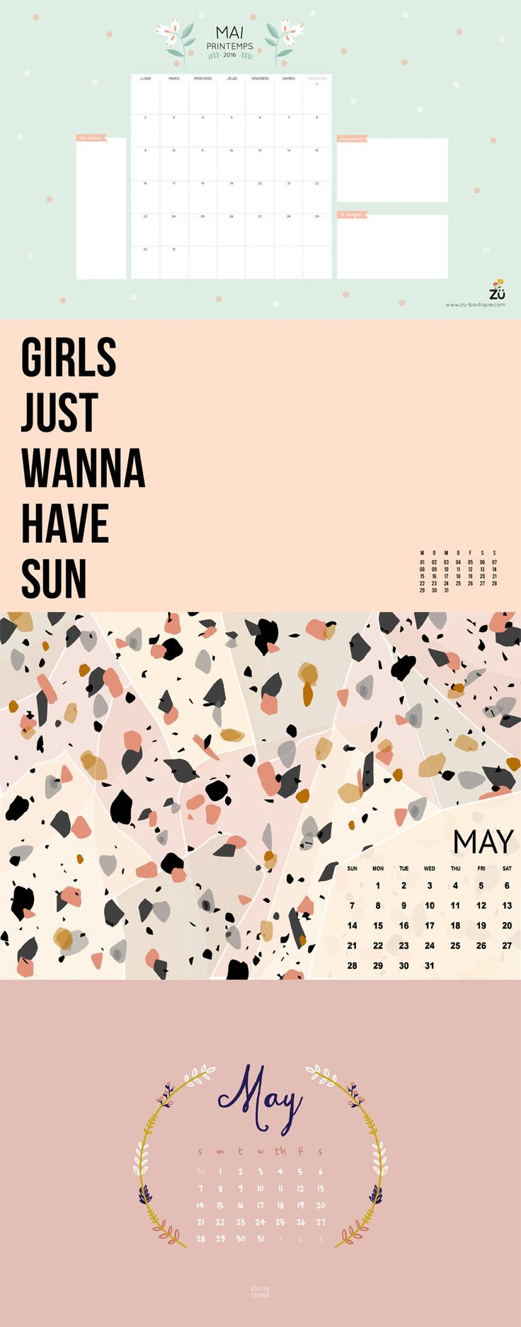 Free Desktop Wallpaper Collection Mai 2017