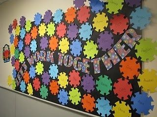 bulletin board idea from @Jan Wilke Allen {the overall teacher}
