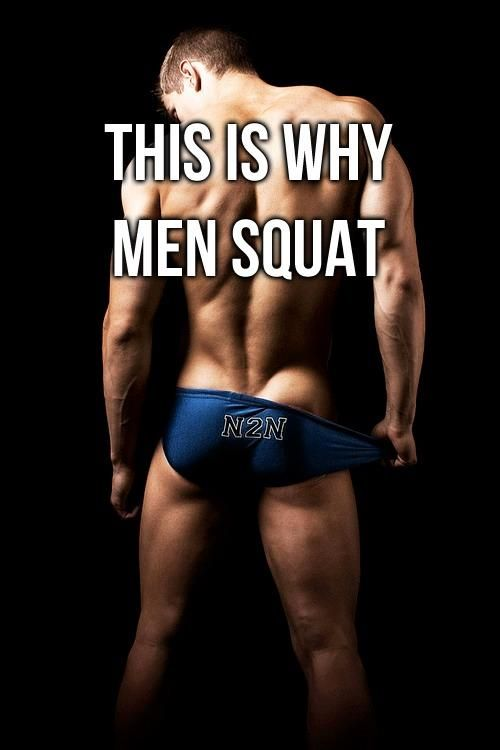 Or at least this is why gay men squat. Squats: Your in-between-commercial-breaks ritual. Just do 'em.
