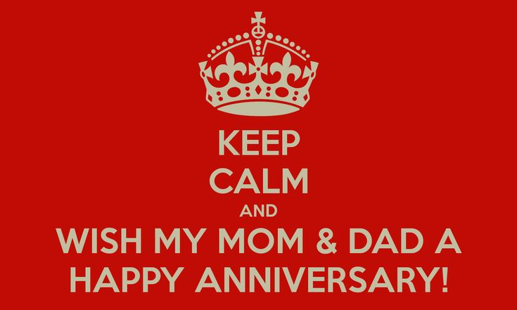 Anniversary Poem For Parents - Google Search