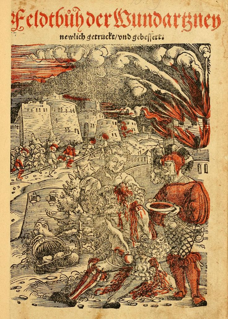 Artist: Hans Wechtlin, Title: Feldbuch der Wundartzney, Page: 7, Date: 1528