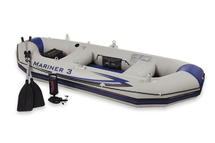 An awesome rigid inflatable boat! £194.21  http://inflatableboats-store.com/general/intex-mariner-3-set-rowing-boat  #rigid #inflatable #boat #RIB