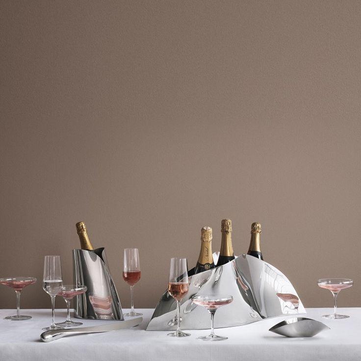 Georg Jensen - Indulgens Champagne Grand Skål - køkken - tilbehør - borddækning - boligindretning - inspiration - idéer