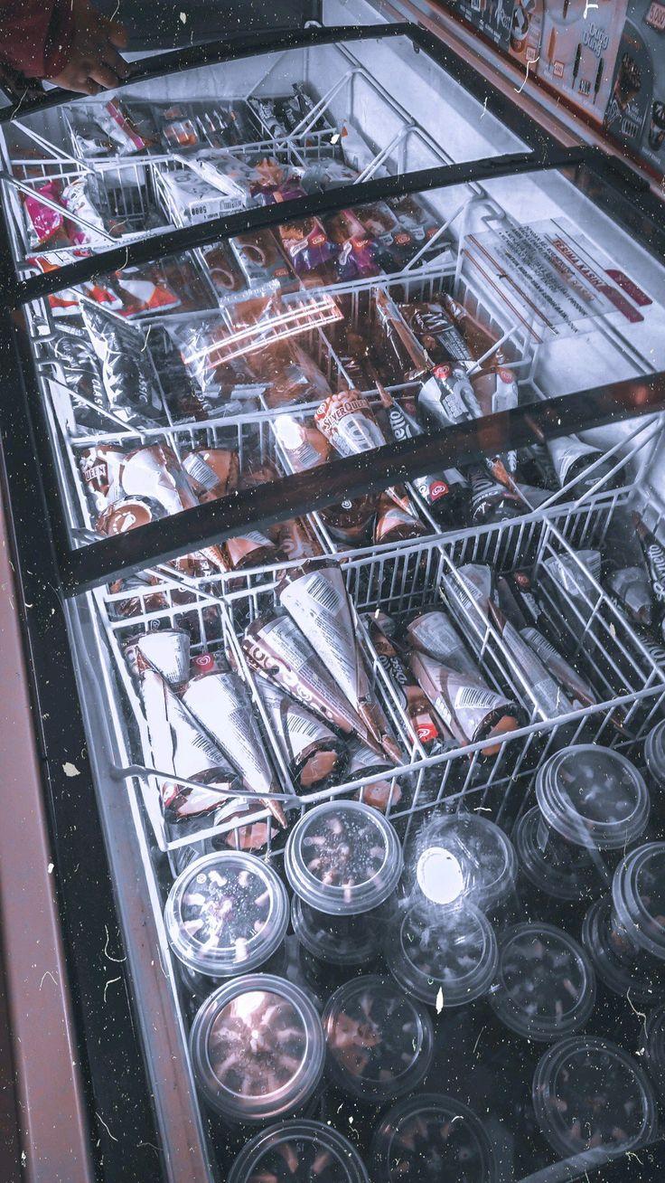 Eskrim!! di 2020 Minuman smoothies, Ide makanan, Fotografi