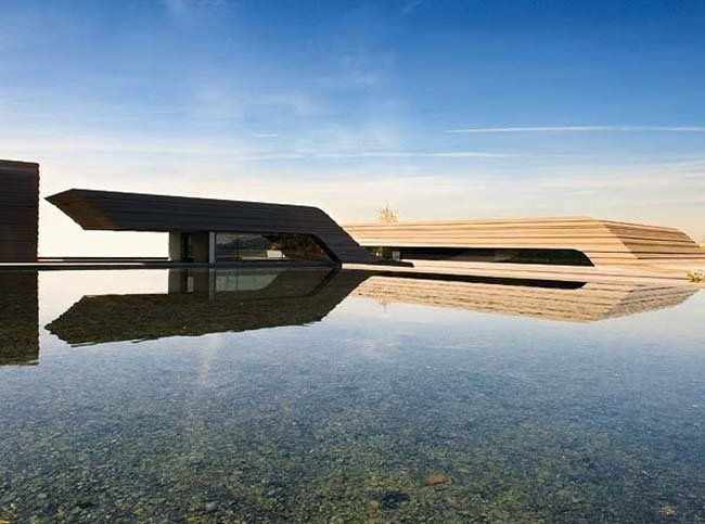 Best ACERO ARCHITECTURE Images On Pinterest Modern Homes - Bn house perfect space for relaxation surrounded by exotic landscape madrid spain