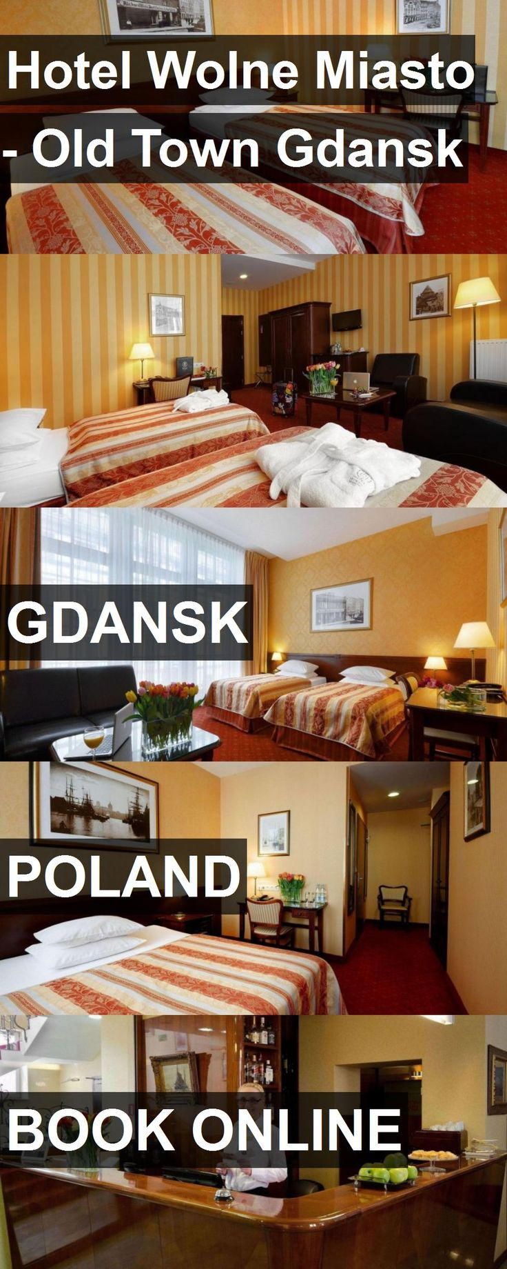 Hotel Wolne Miasto - Old Town Gdansk in Gdansk, Poland. For more information, photos, reviews and best prices please follow the link. #Poland #Gdansk #travel #vacation #hotel