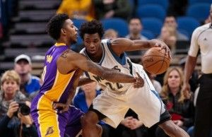 Andrew Wiggins vs. Lakers: Stats, Highlights and Twitter Reaction