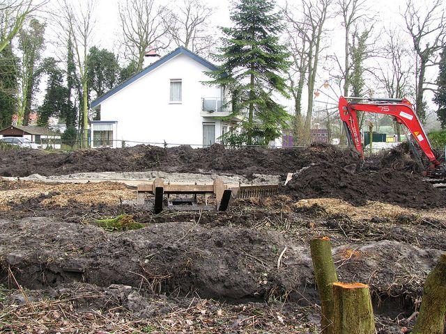#Vredenoord #Rijswijk #DenHaag #GVBarchitecten #restauratie #buitenplaats - moestuin oude toestand
