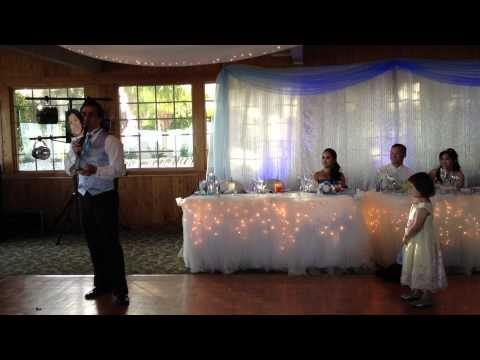 Best Man Speech Song Toast For Andy Cherrys Wedding Tangled Parody