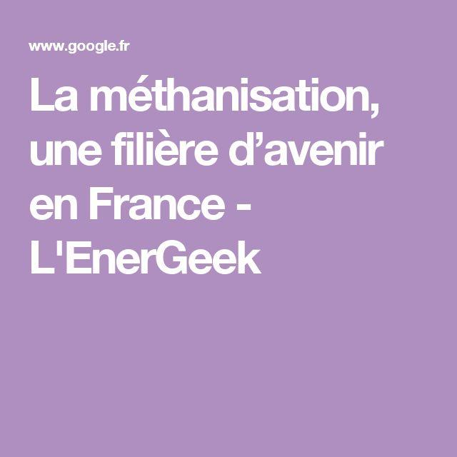 La méthanisation, une filière d'avenir en France - L'EnerGeek