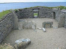 The oldest standing house in Northern Europe is at Knap of Howar, dating from 3500 BC.