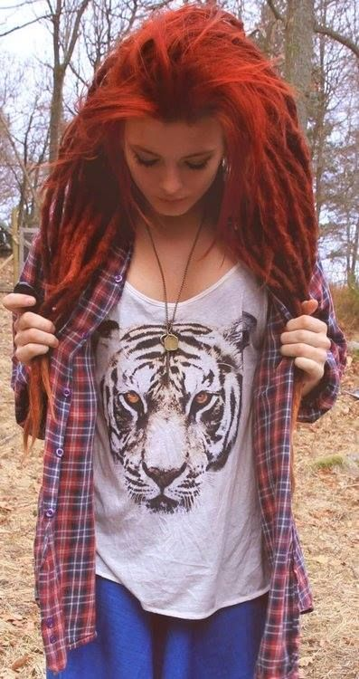 Love the dreads and everything about her