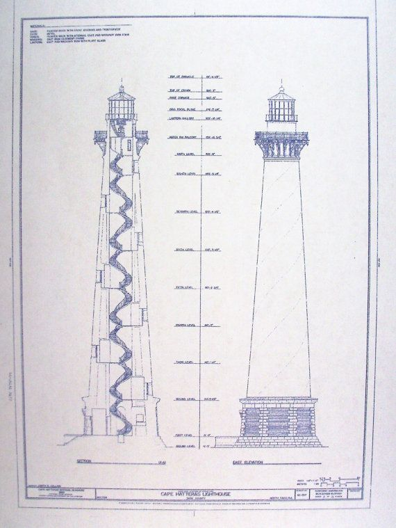 17 best images about lighthouse plans on pinterest rocks On lighthouse blueprints plans