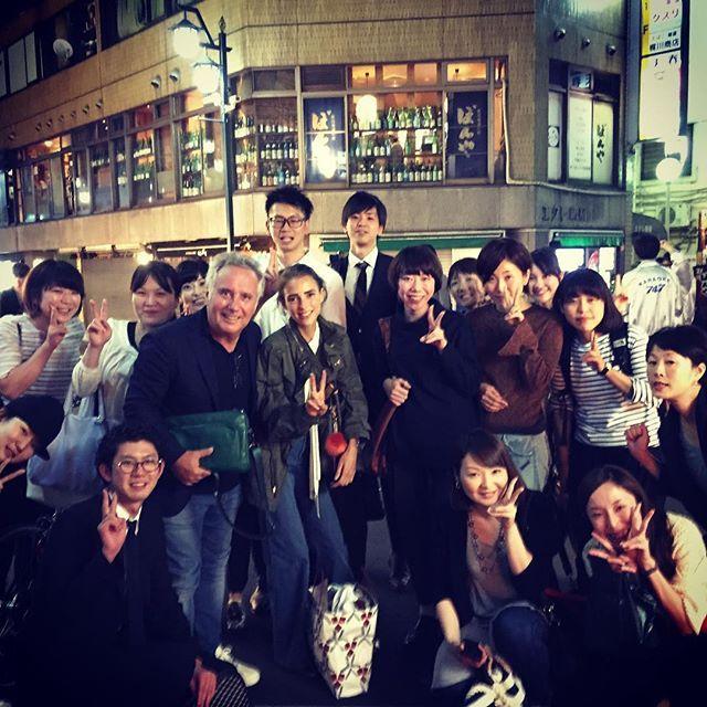 Special Okonomiyaki for dinner! Thank you GMT/ISETAN STAFF