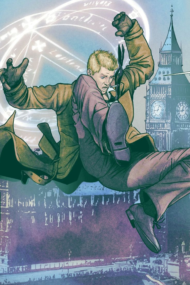 John Constantine in Justice League Dark #01