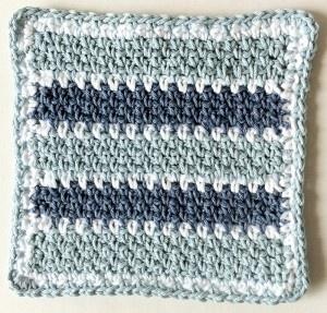 'Maggie Weldon, Crochet Kitchens, Maggie Crochet, Free Crochet, Denim Track, Track Crochet, Dishcloth Pattern, Crochet Dishcloths, 137 Denim