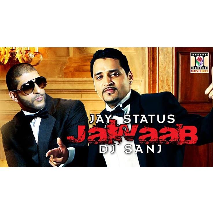 """Single: """"Jawaab"""" by Jay Status & DJ Sanj. Now available on #iTunes - https://itun.es/us/kbAoN // #Bhangra #Single #DesiMusic #Desi #Hindi #Music #Punjabi #Panjabi #UrbanDesi"""