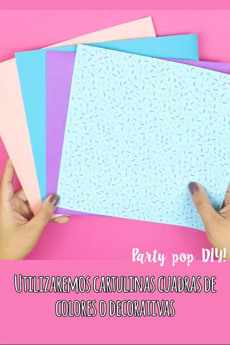 Dulceros #dulceros #bolsasdepapel #bolsitas Recuerdos para tu fiesta #bolos Paper Crafts Origami, Diy Paper, Paper Art, Fun Diy Crafts, Ideas Para Fiestas, Paper Flowers Diy, Diy For Kids, Party Time, Easy Diy
