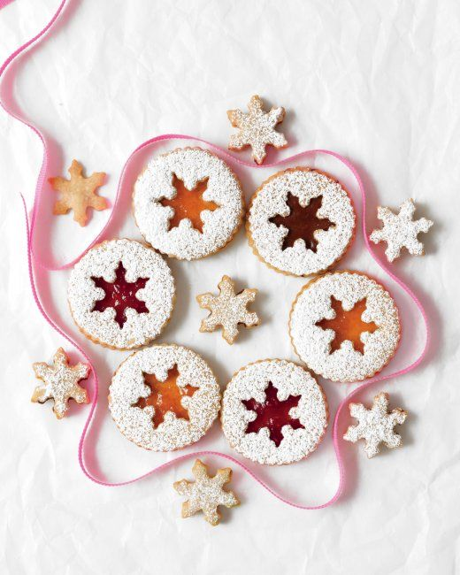 Hazelnut Sandwich Christmas Cookies