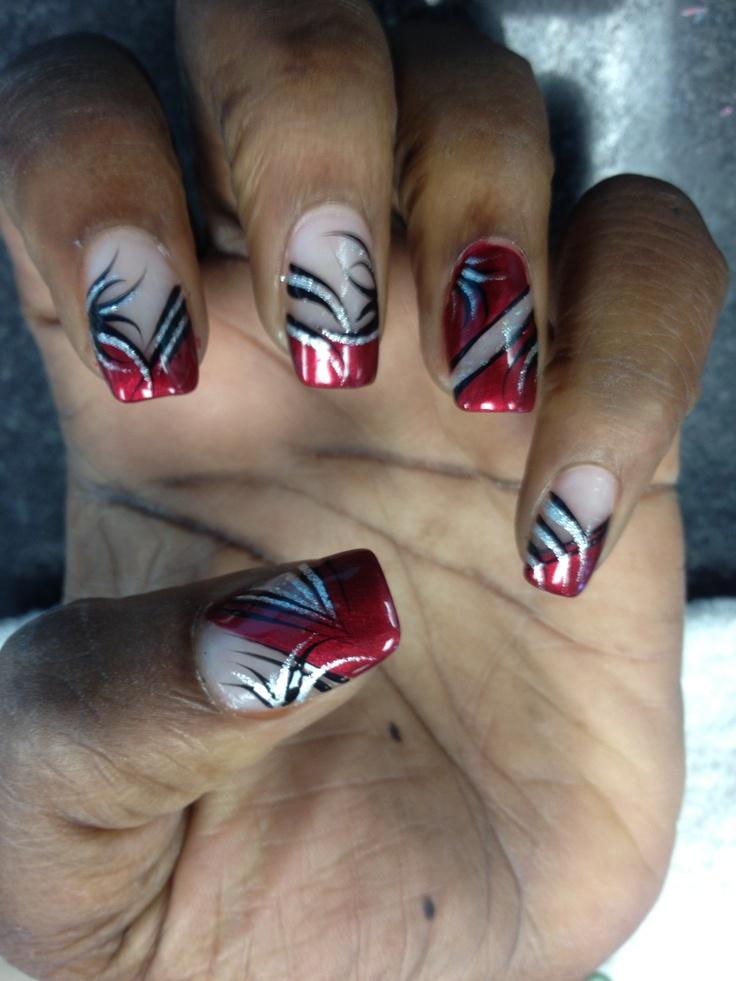 nails angel nail