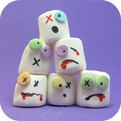 Zombie marshmallows!!!