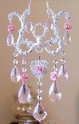 Sparkly Blush Pink Crystal SunCatcher