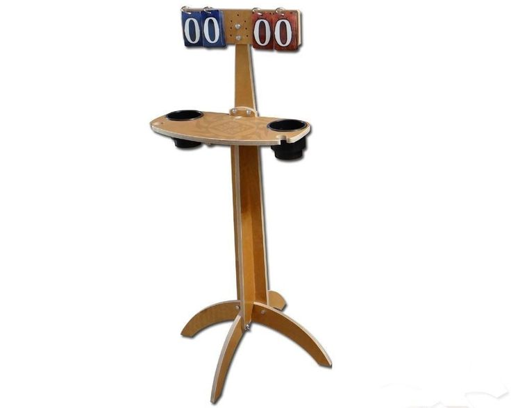 Cornhole Score Board Table - Holds Drinks - Great for Cornhole or Washer Games…