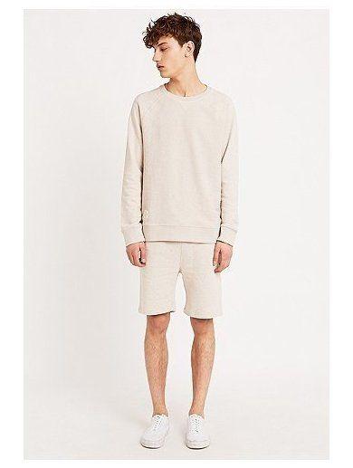 Native Youth Multi-Fleck Shorts in Cream