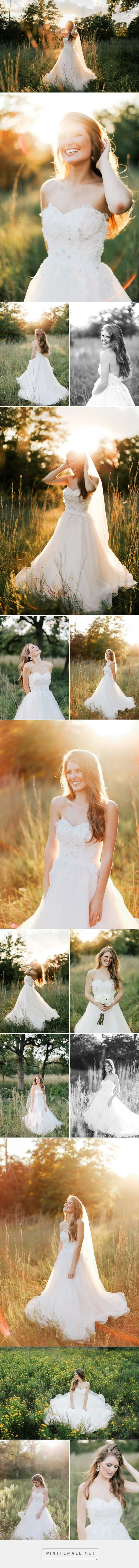 Haley - Gold hour bridal shoot | Feather and Twine Photography, Austin TX