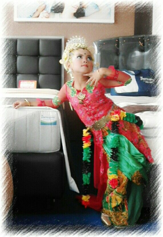 My princess in traditional javanesse costume