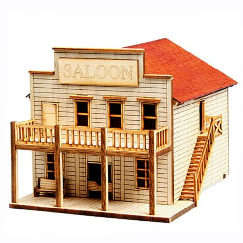 how to build model scenery