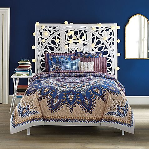 Pinned for the bohemian headboard. I must find...    Anthology™ Marrakesh Vibe Reversible Comforter Set