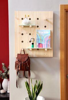 DIY: Estantería con panel perforado | Handbox Craft Lovers | Comunidad DIY, Tutoriales DIY, Kits DIY