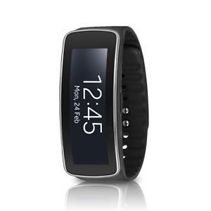 Samsung Galaxy Gear Fit SM-R350 Smartwatch Fitness Tracker - Black  $64.95  $179.99  (3 Available) End Date: Aug 102016 07:59 AM GMT-07:00