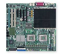 X7DB8+ coreboot compatible server motherboard from supermicro, xeon processor wolfdale dual.