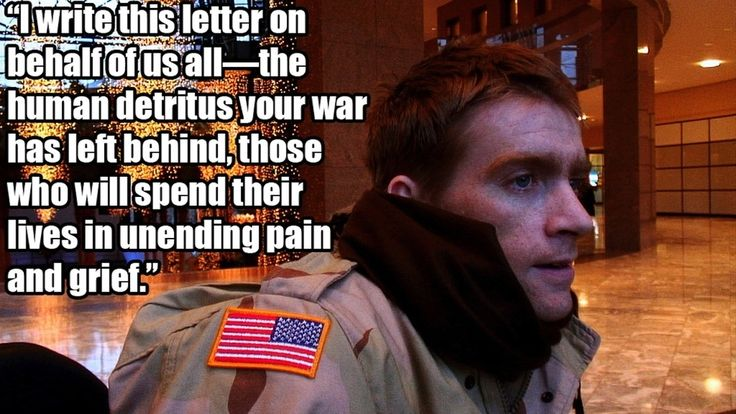 """Dying Iraq war veteran Tomas Young penned a letter to George W. Bush and Dick Cheney on the 10th anniversary of the Iraq War. 