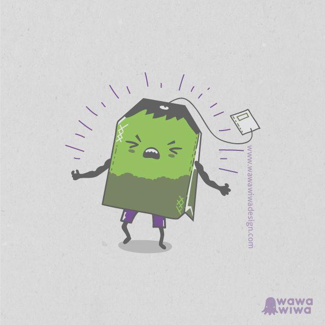 Wawa Wiwa Design ~  El Increible Te Verde