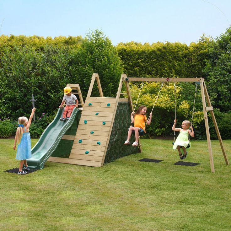 Plum Climbing Pyramid with Swings | Plum Climbing Frames