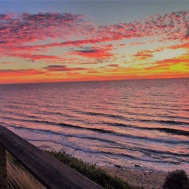 Sandringham beach #Bayside #melbourne #beachlife #strolling #sunset #pinkskies #sandringham #australia #melbournelifelovetravel