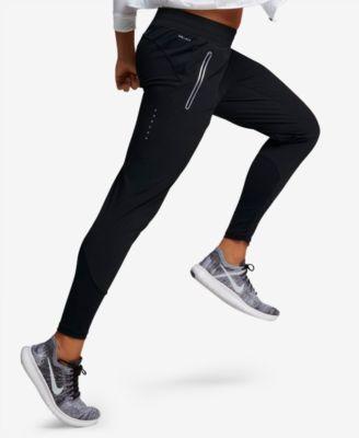 a2ad65ea5e867 Nike Flex Swift Dri-fit Running Pants - Black XL   Products ...