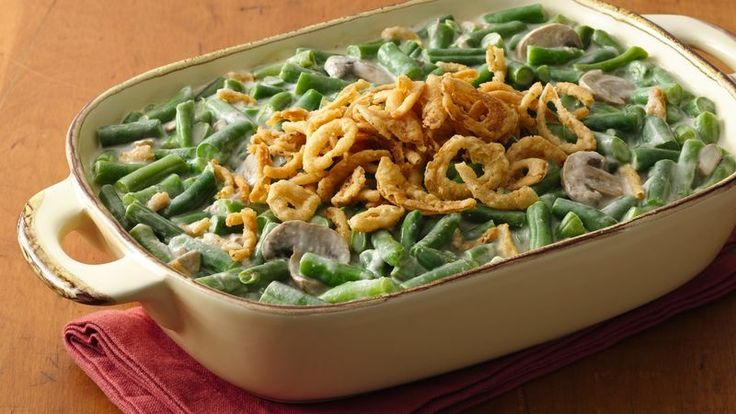 The best green bean casserole if you're looking for something traditional with a twist.