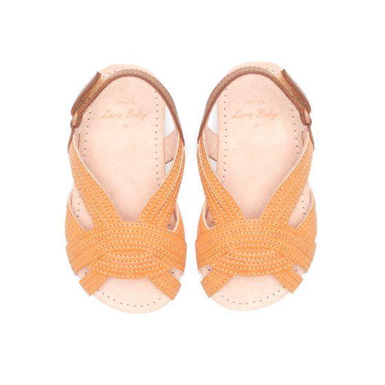 Baby Girl Vintage sandal from Zara