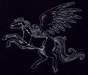 Pegasus Constellation Embroidery from UrbanThreads.com