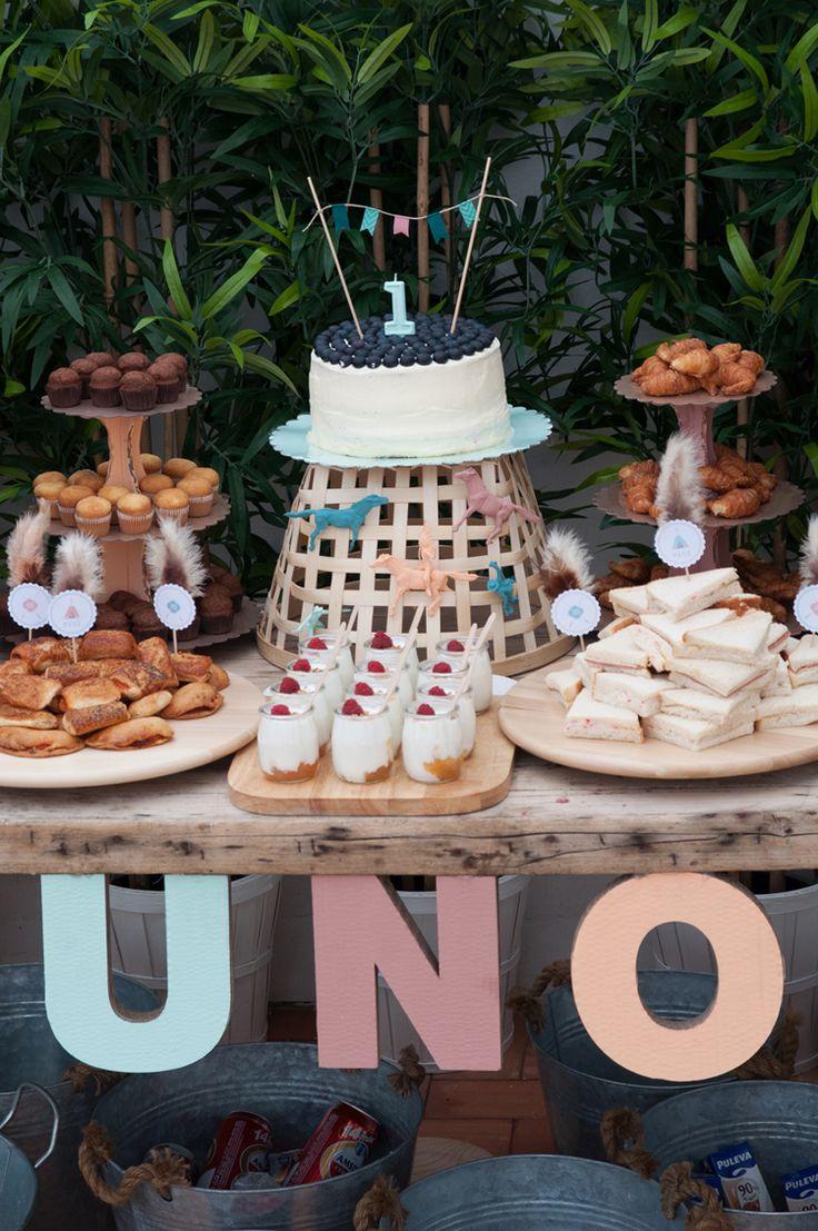 Me encantan las mini fiestas que organiza macarena gea - Decoracion primer cumpleanos ...