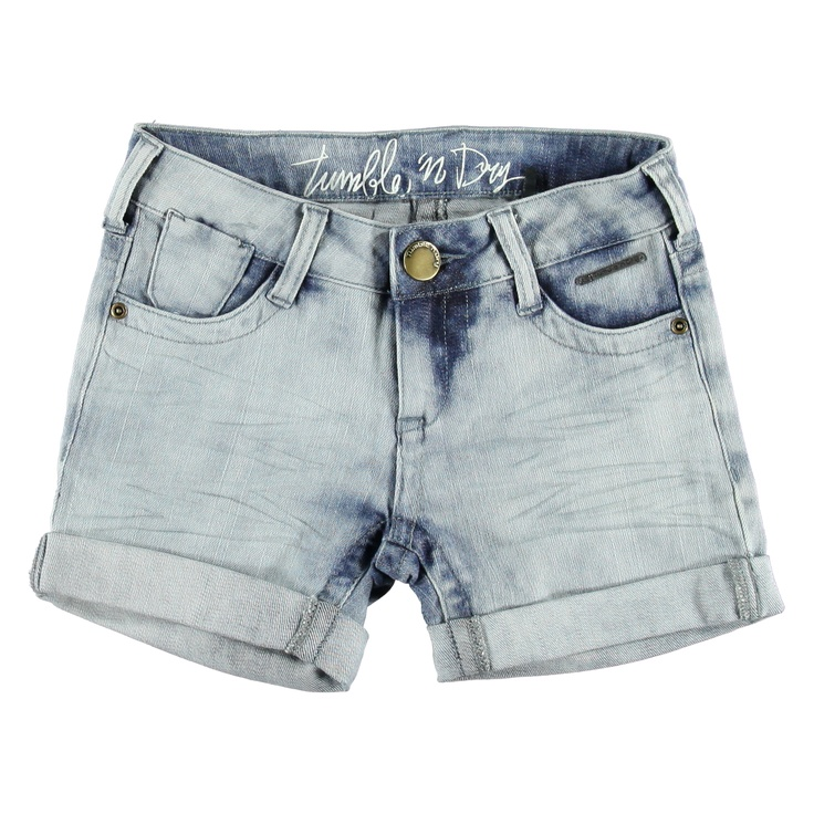 Korte Broek Denim | Tumble n Dry | Daan en Lotje https://daanenlotje.com/kids/meisjes/tumble-and-dry-korte-broek-denim-001143