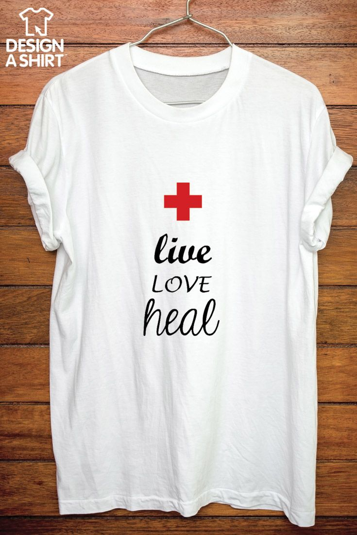 A great customizable t-shirt template from www.DesignAShirt.com. Personalize this for your favorite nurse or nursing student!