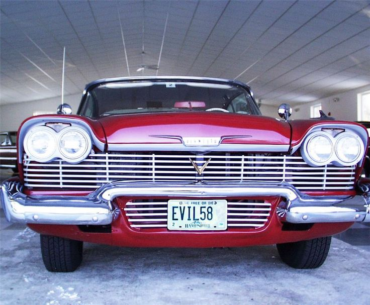 """1958 PLYMOUTH FURY """"CHRISTINE"""" FROM THE BILL PRIZE"""